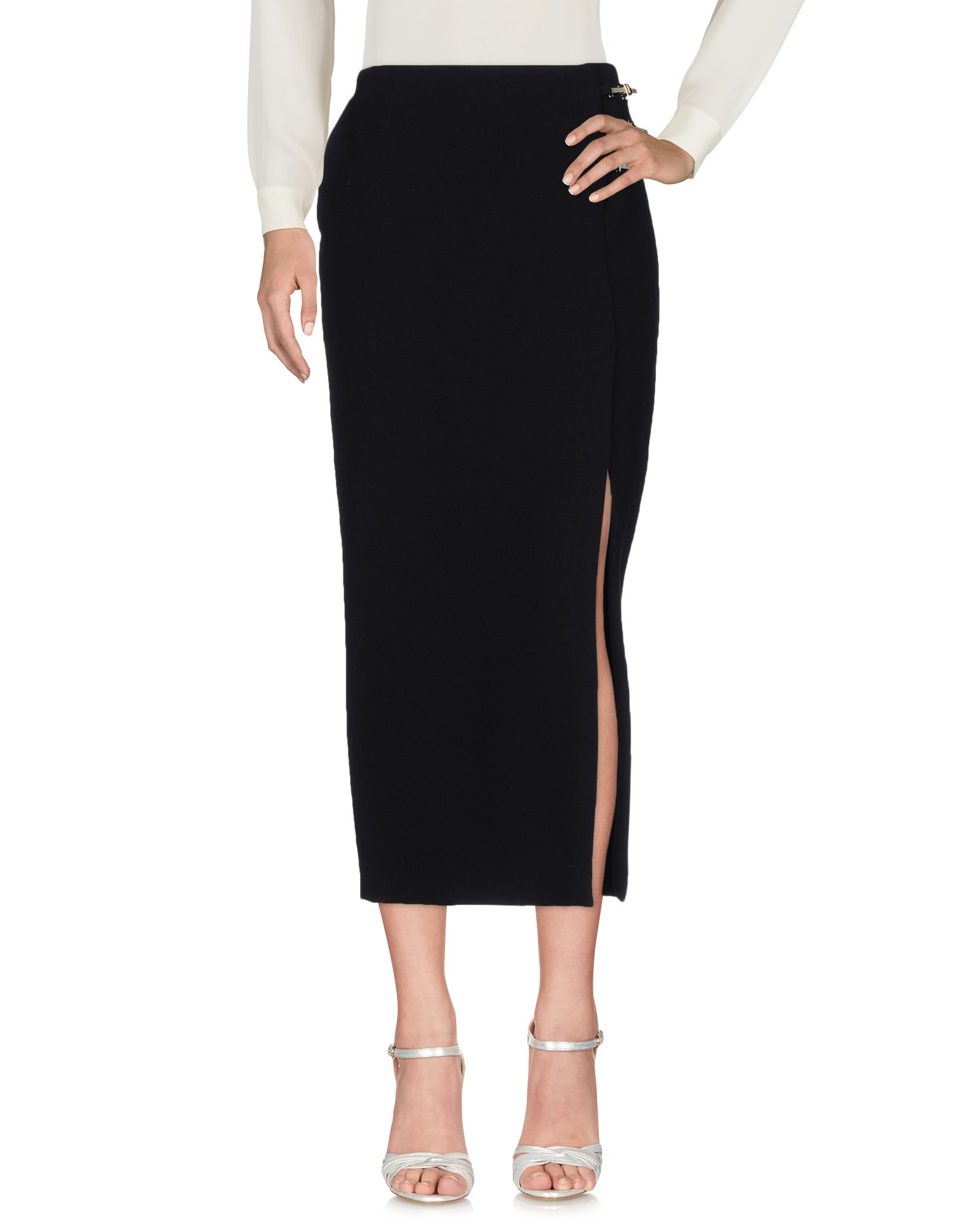 VERSACE COLLECTION Длинная юбка юбка длинная из крепона