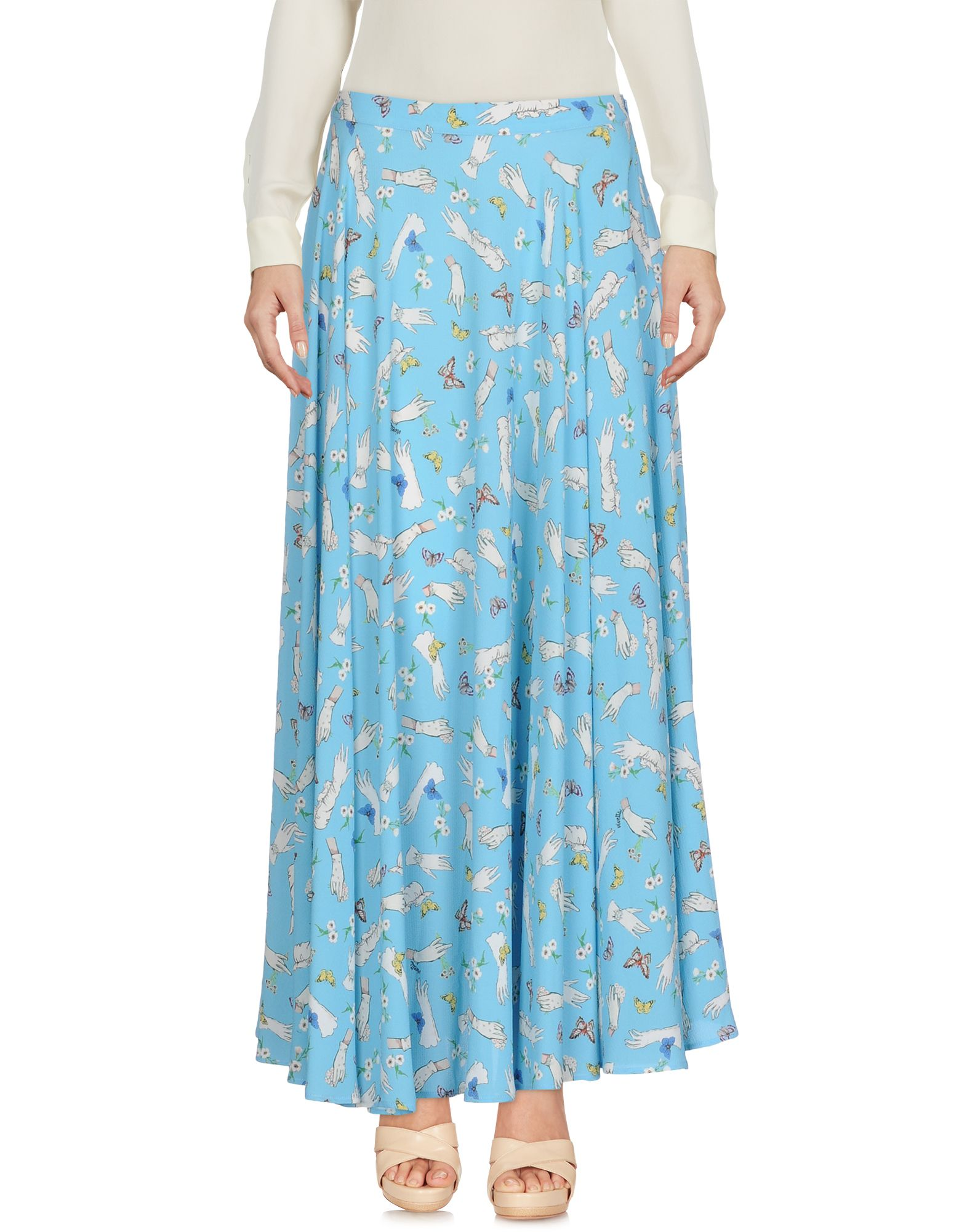 VIVETTA Юбка длиной 3/4 moschino couture юбка длиной 3 4