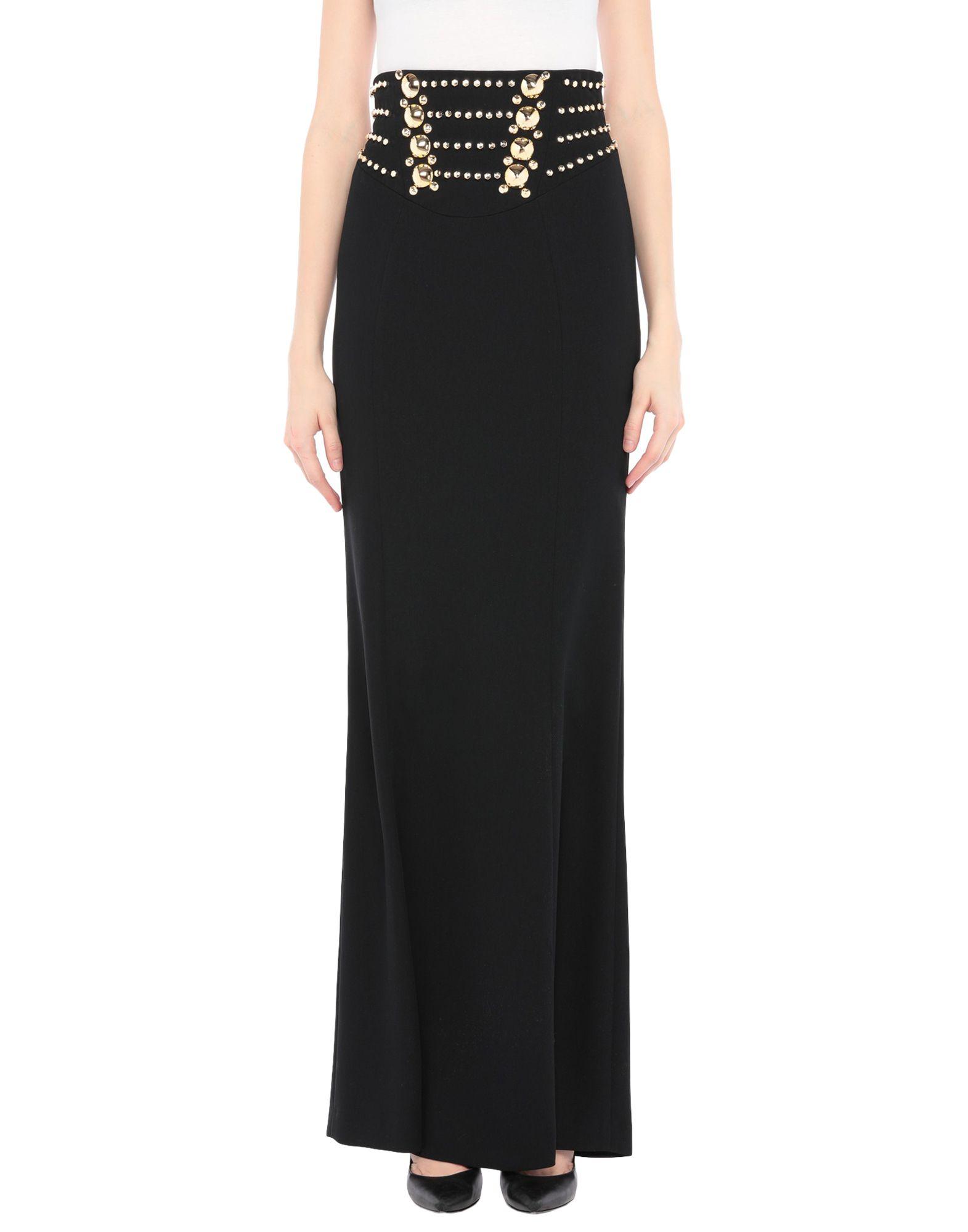 VERSACE COLLECTION Длинная юбка versace collection юбка с отделкой