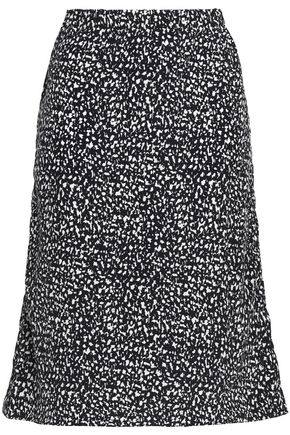 MARNI Silk-crepe skirt