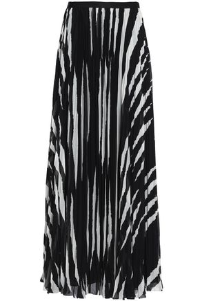 TORY BURCH Crepe maxi skirt