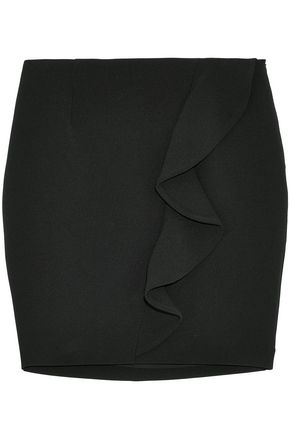 IRO Ruffled crepe mini skirt