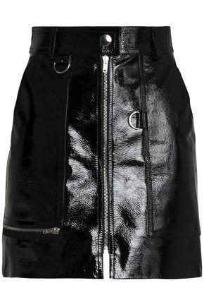 ISABEL MARANT Patent-leather mini skirt