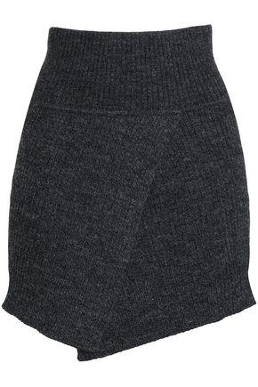 ISABEL MARANT ÉTOILE Mélange wool-blend mini skirt