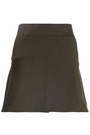 BELSTAFF Cotton-blend twill mini skirt