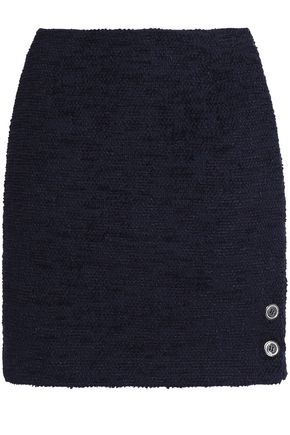 CLAUDIE PIERLOT Cotton-blend bouclé mini skirt