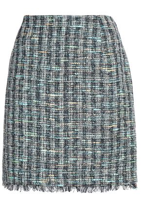 CLAUDIE PIERLOT Frayed tweed mini skirt