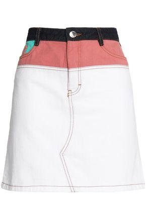 Denim Mini Skirt by Maje