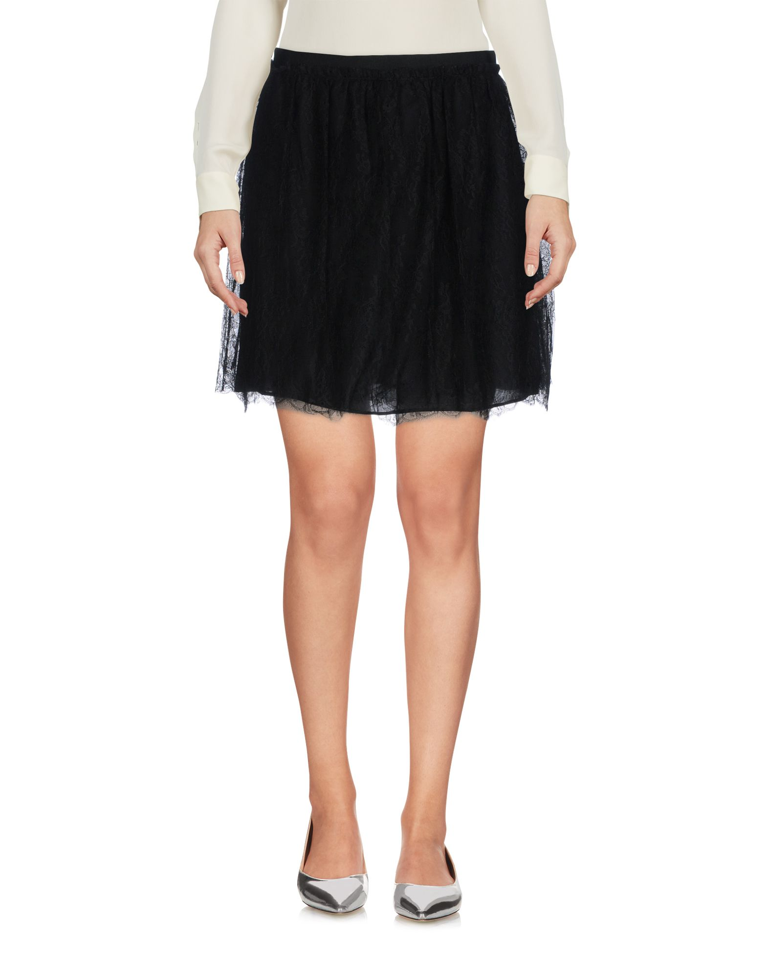 VALENTINO Мини-юбка valentino полупрозрачная юбка