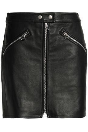 RAG & BONE/JEAN Leather mini skirt
