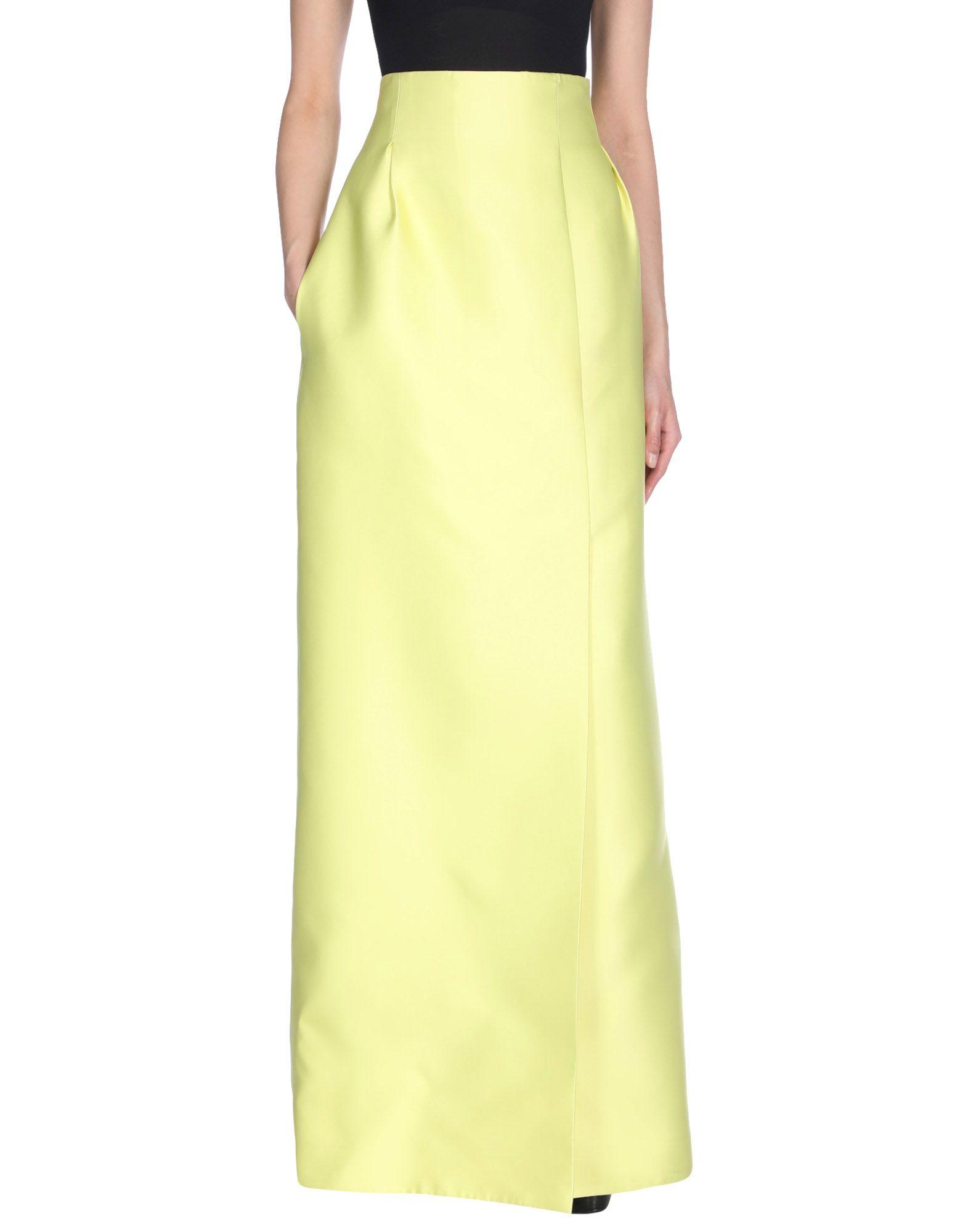 EMILIA WICKSTEAD Длинная юбка paolajoy длинная юбка