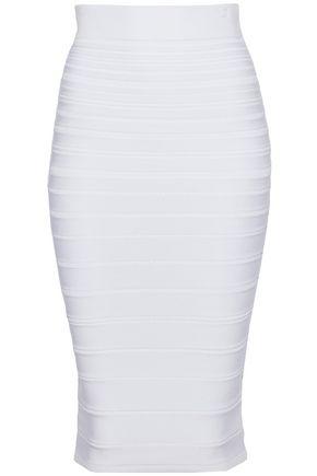 CUSHNIE ET OCHS Stretch-knit skirt
