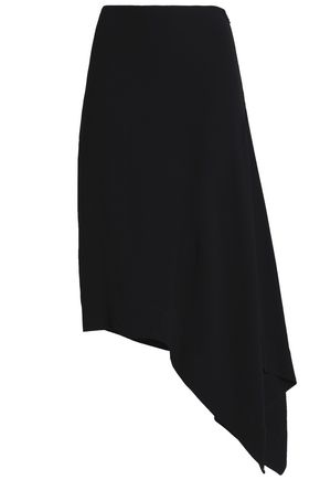 MARNI Asymmetric crepe skirt