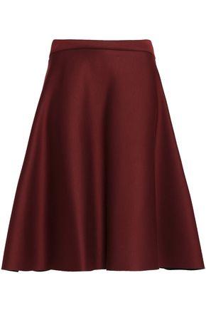 CHALAYAN Flared scuba-modal skirt