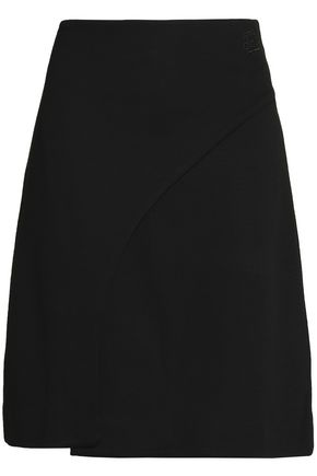 ÊTRE CÉCILE Embroidered stretch-jersey mini skirt