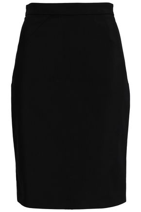 VIONNET Cotton-blend skirt