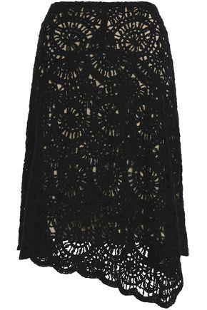 GOEN.J Asymmetric crocheted dress