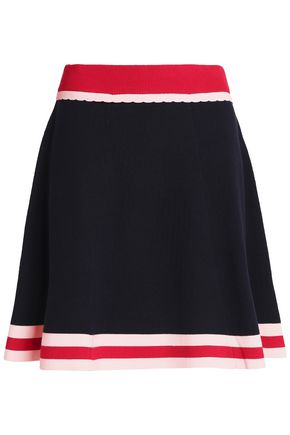 CHINTI AND PARKER Stretch-knit mini skirt