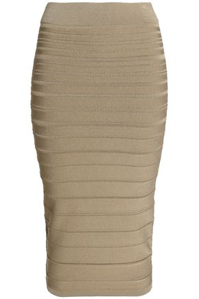 CUSHNIE ET OCHS Stretch-knit skirt