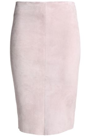 DROMe Suede pencil skirt