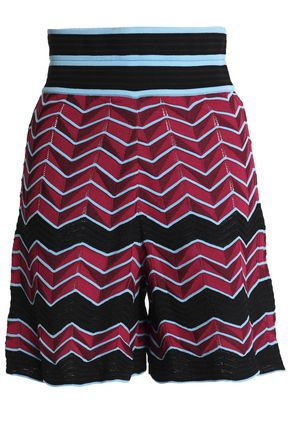 M MISSONI Jacquard-knit shorts