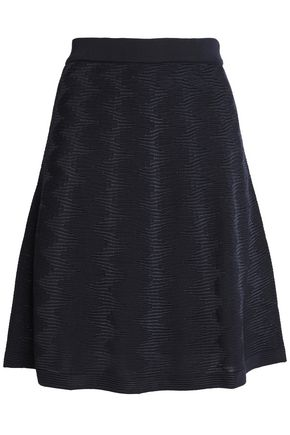 M MISSONI Jacquard-knit mini skirt