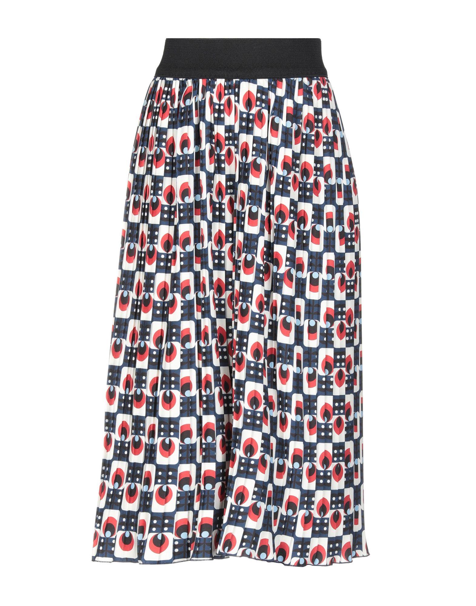 GUTTHA Юбка длиной 3/4 юбка брюки плиссе