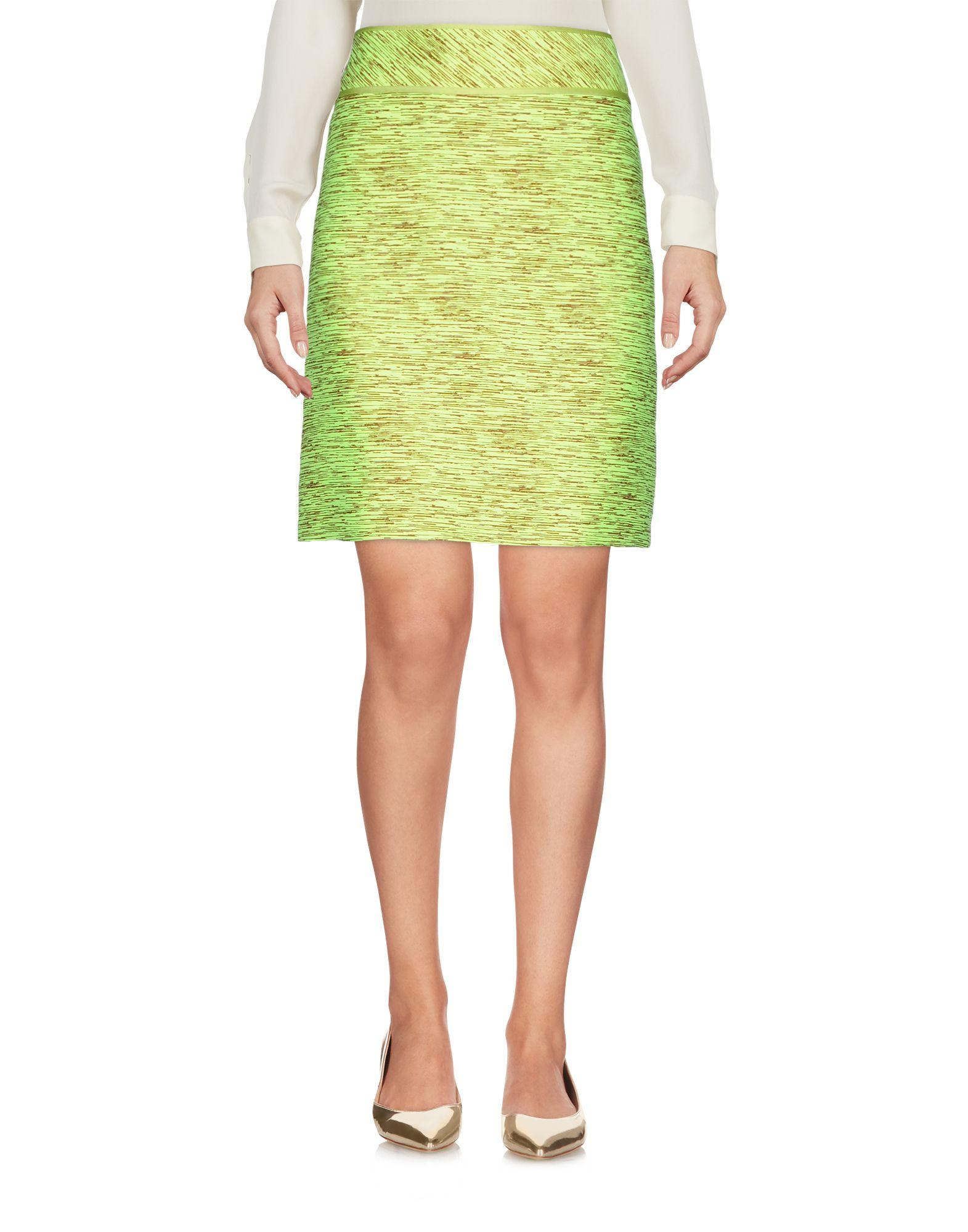 BOUTIQUE MOSCHINO Мини-юбка юбка жаккардовая короткая