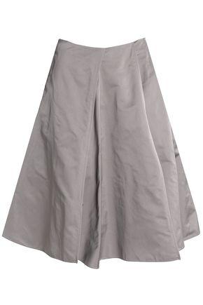 JIL SANDER Pleated shell skirt