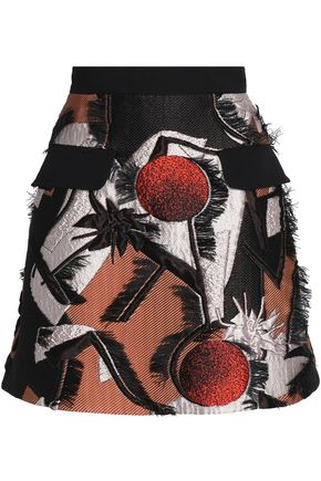 ROKSANDA Fil coupé jacquard mini skirt
