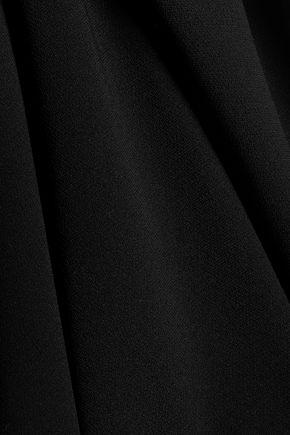 ALEXANDER WANG Ring-embellished crepe midi skirt