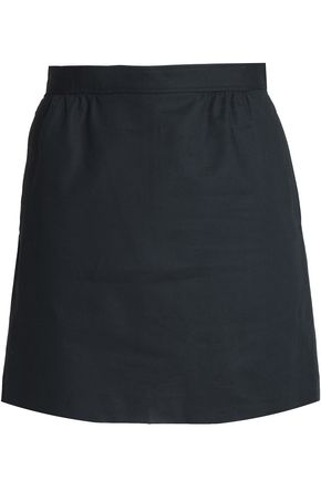 A.P.C. Stretch-cotton mini skirt