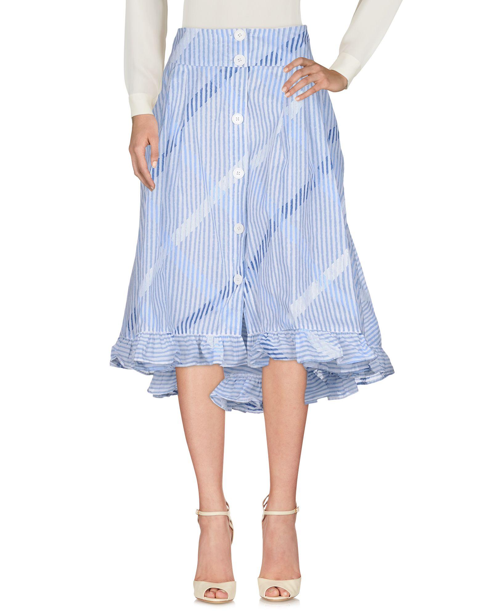 THIERRY COLSON Юбка длиной 3/4 thierry colson платье длиной 3 4