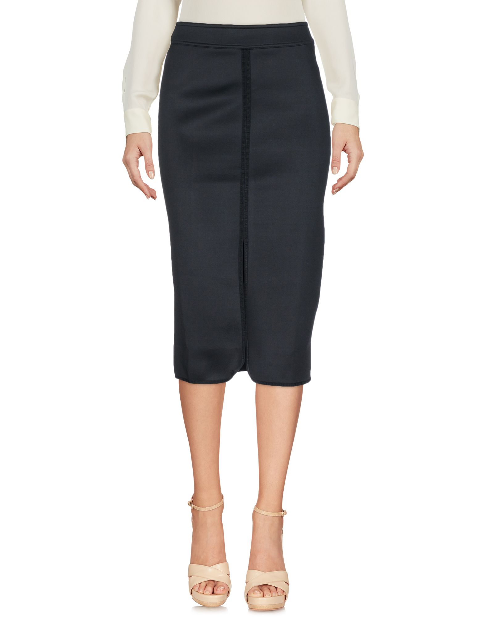 SANDRO Юбка длиной 3/4 sandro джинсовая юбка с декоративной шнуровкой page 3