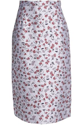 ALTUZARRA Brocade pencil skirt