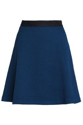 SANDRO Paris Jeda flared cloqué mini skirt