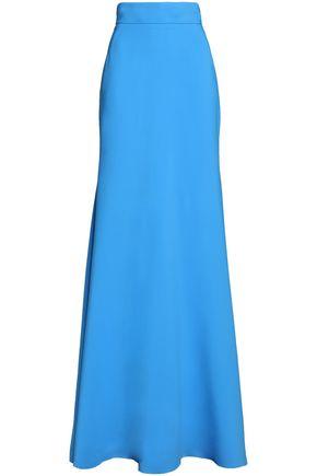ANTONIO BERARDI Crepe flared maxi skirt