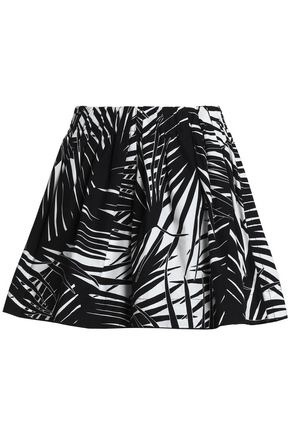 MARC JACOBS Printed cotton-poplin shorts