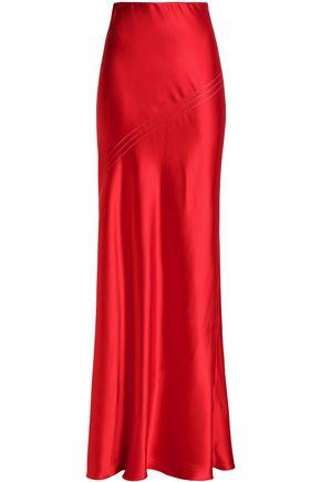 AMANDA WAKELEY Silk-satin maxi skirt