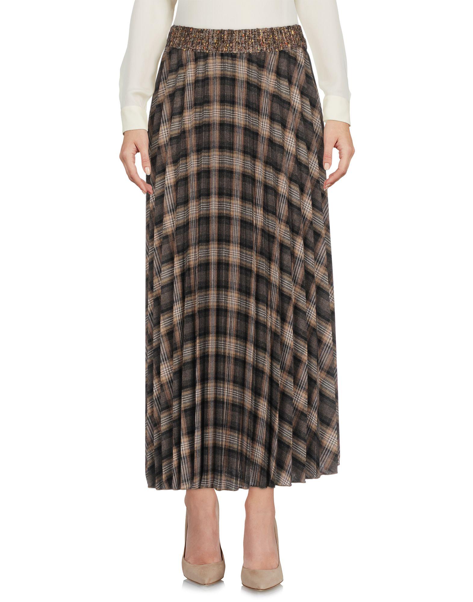 PAOLO CASALINI Юбка длиной 3/4 paolo casalini платье до колена