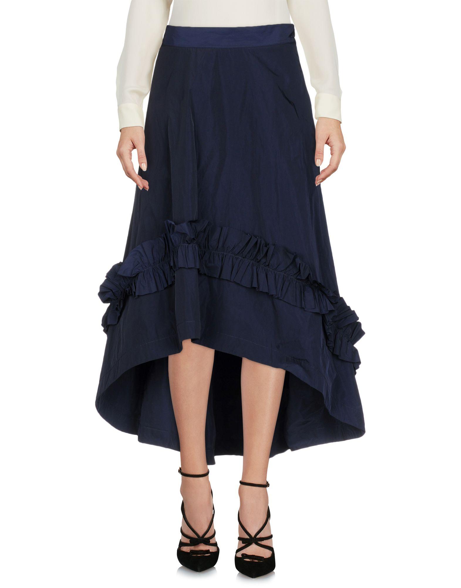BACKGROUND Юбка длиной 3/4 moschino couture юбка длиной 3 4