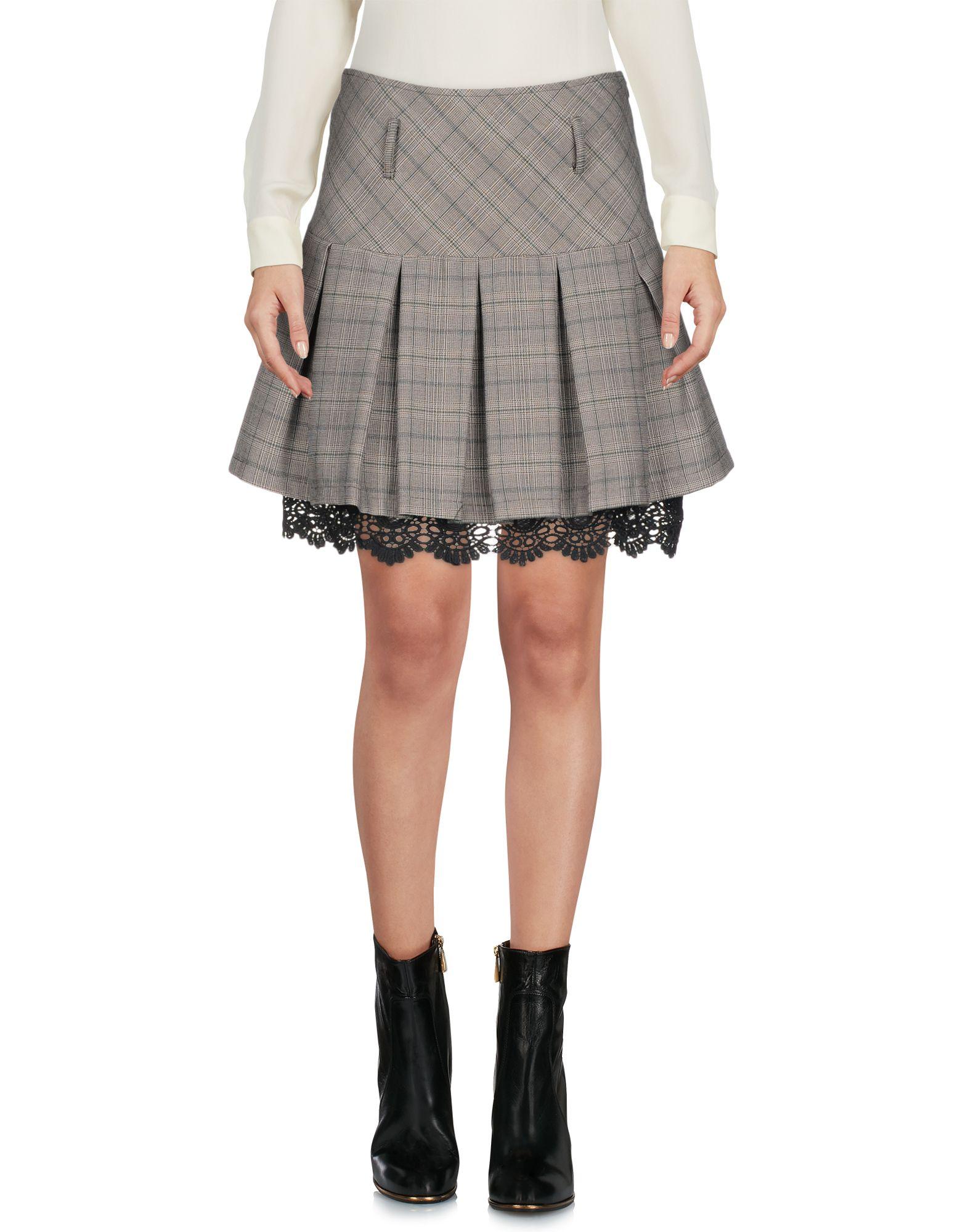 PAOLO CASALINI Мини-юбка paolo casalini длинная юбка