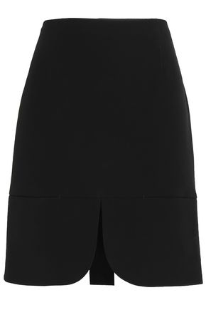 DKNY Split-front faille skirt