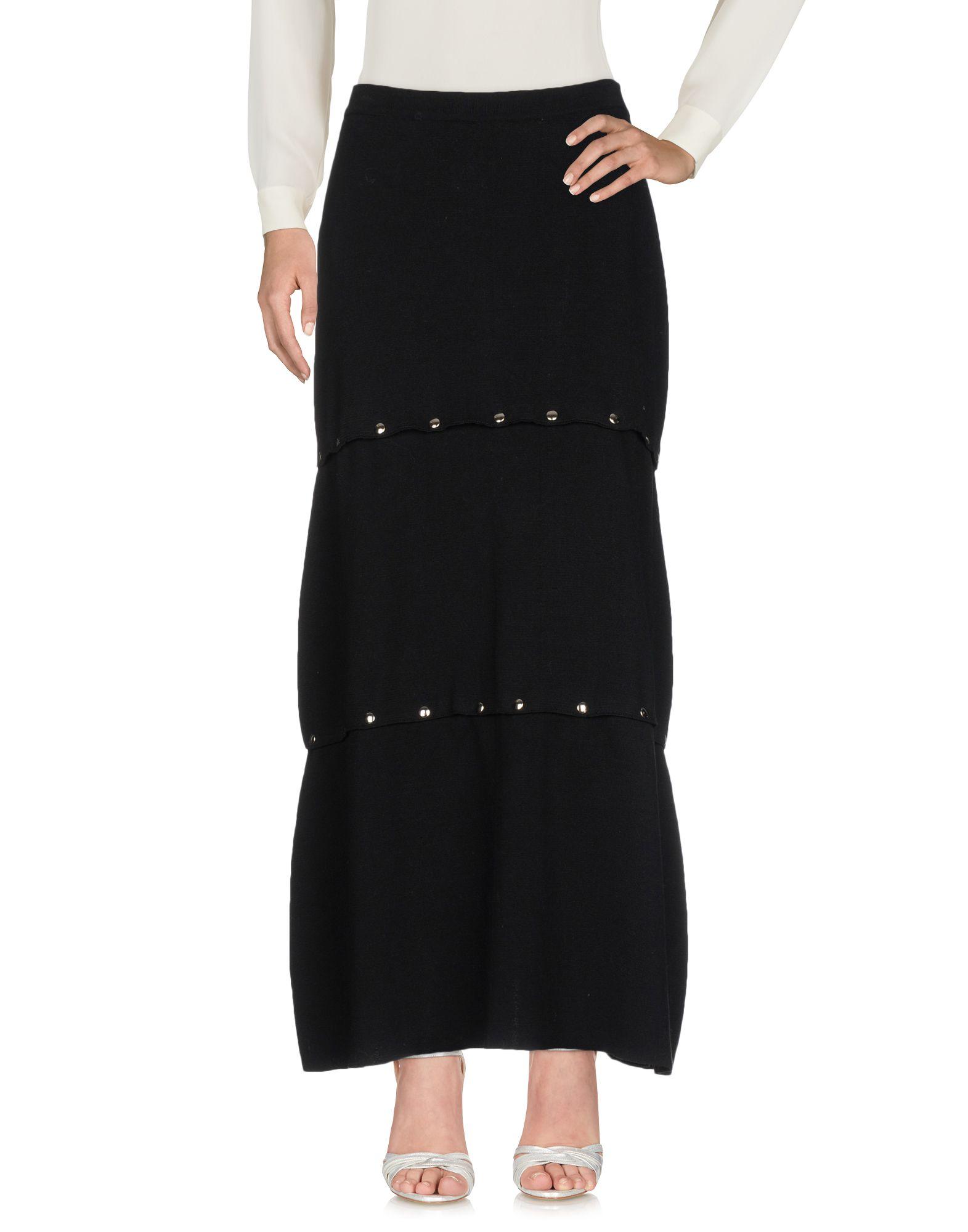 AKEP Длинная юбка юбка длинная из крепона