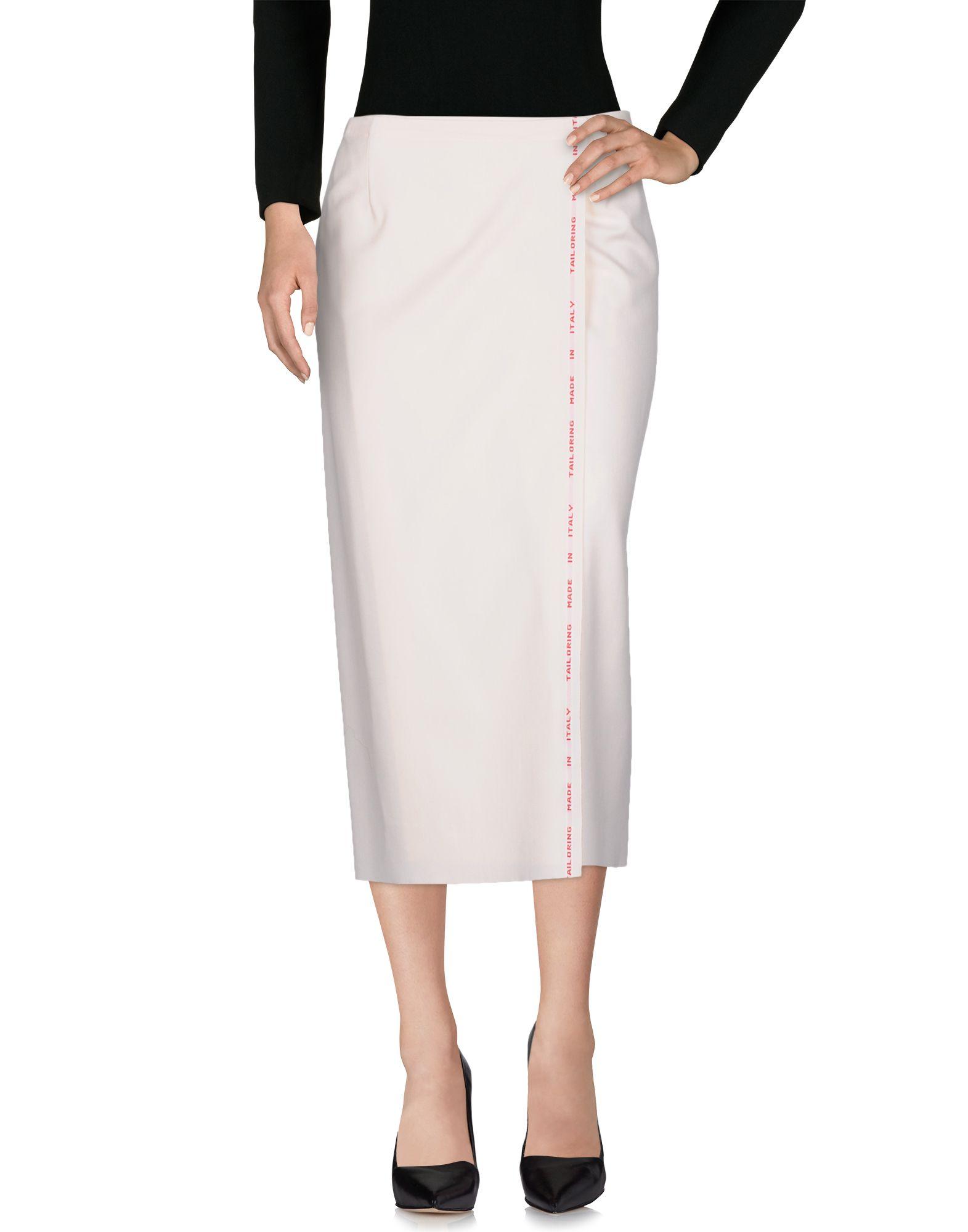 ERIKA CAVALLINI Юбка длиной 3/4 moschino couture юбка длиной 3 4