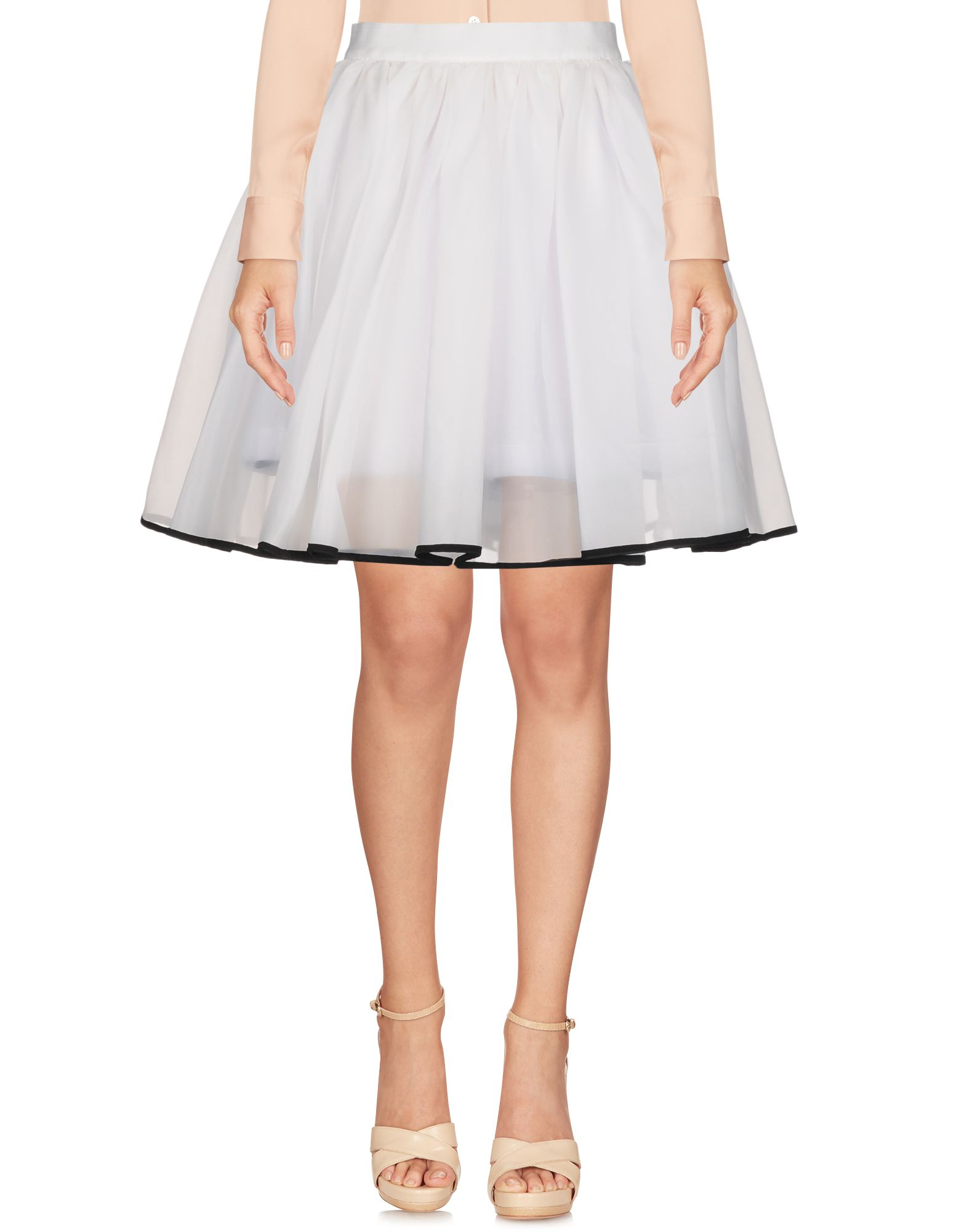NORTH SAILS Knee Length Skirt in White