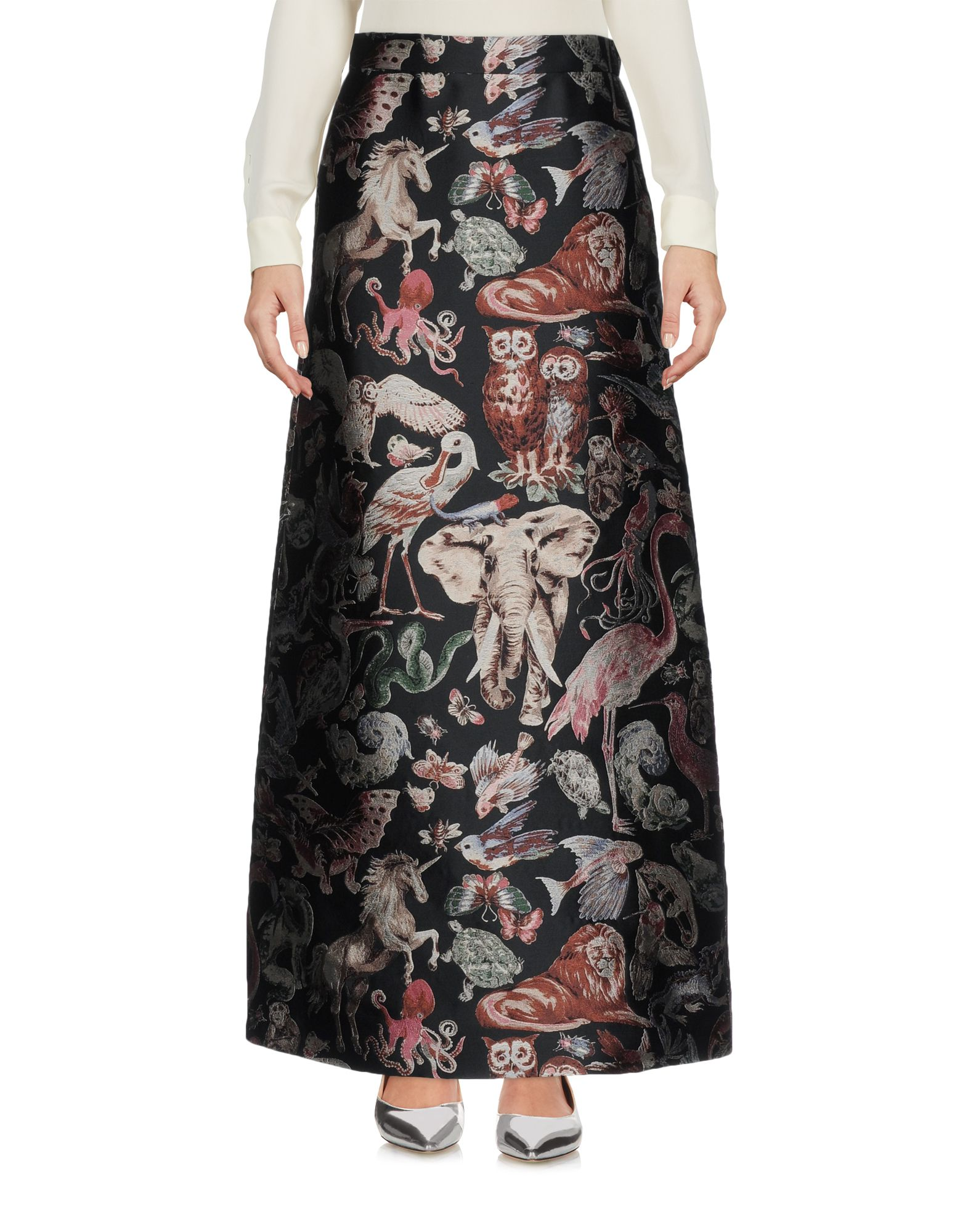 VALENTINO Длинная юбка valentino юбка от valentino 68659