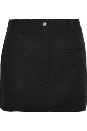 HELMUT LANG Stretch-cotton mini skirt