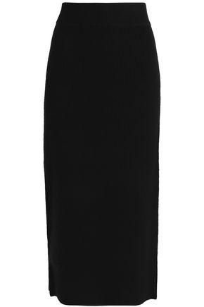 DKNY Cashmere-blend maxi skirt