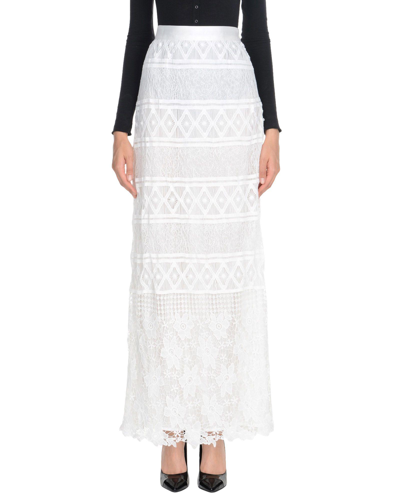 MIGUELINA Длинная юбка miguelina юбка до колена